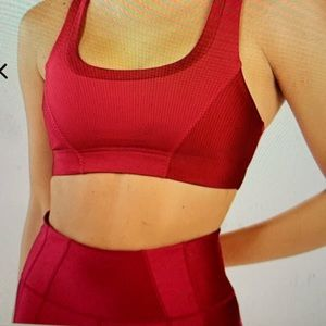 Fabletics Workout Outfit, Top And Bottom, Sz Small